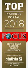 Award / Siegel - Focus TOP Karriereportal 2018